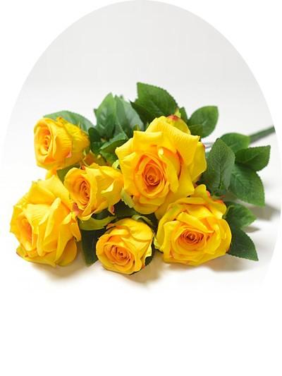 Букет роз Глазбури — желтый - Фото 1 | Компания «Венок»