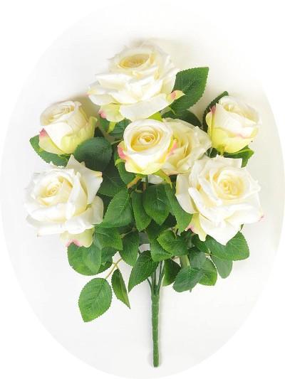 Букет роз Глазбури — белый - Фото 2 | Компания «Венок»