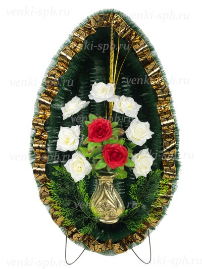Ритуальный венок Былина - Фото 1 | Компания «Венок»