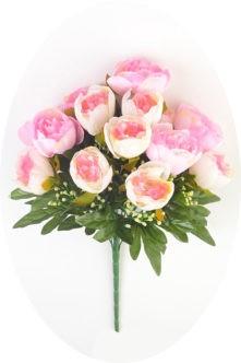 Букет пионов Пембри нежно-розовый купить на похороны в спб