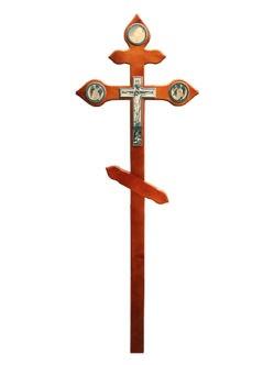 Деревянный крест на могилу из сосны Вечность №3 в спб