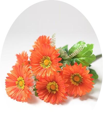 Букет гербер Кидмор – оранжевый - Фото 1   Компания «Венок»