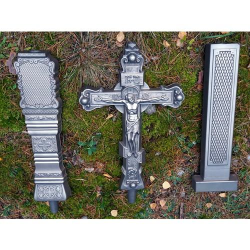 Крест из литого камня с орнаментом - Фото 8 | Компания «Венок»