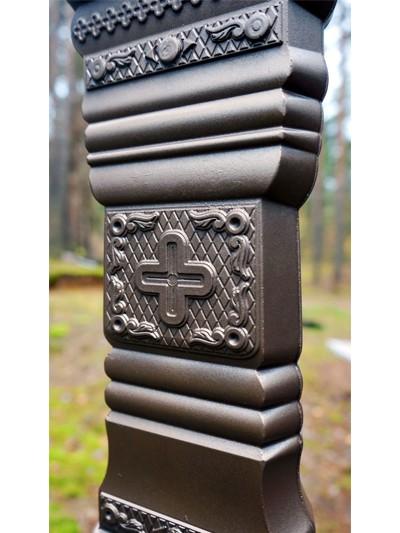 Крест из литого камня с орнаментом - Фото 11 | Компания «Венок»
