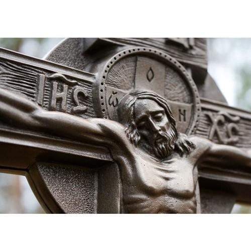 Крест из литого камня с орнаментом - Фото 12 | Компания «Венок»