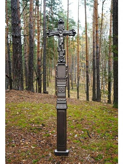 Крест из литого камня с орнаментом - Фото 4 | Компания «Венок»