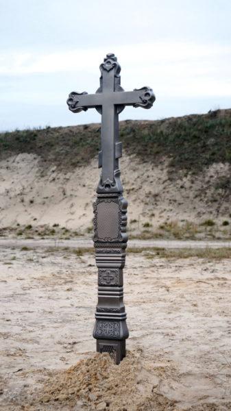 Крест из литого камня с орнаментом - Фото 5 | Компания «Венок»