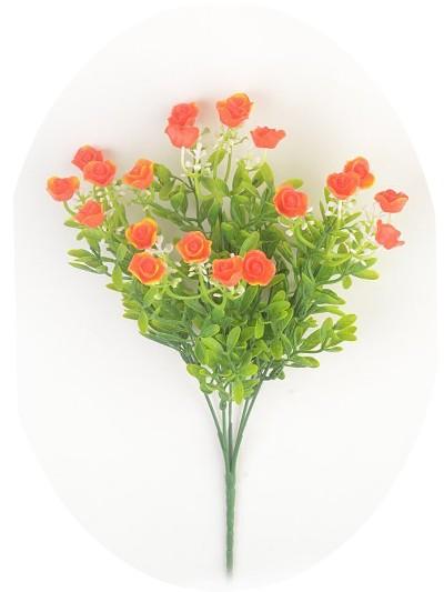 Букет с цветами роз – оранжевый - Фото 1 | Компания «Венок»