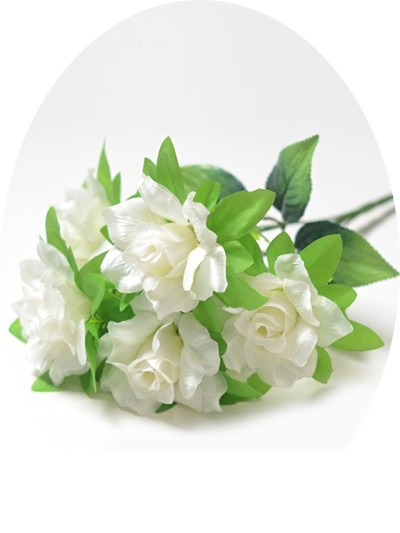 Букет роз Элнвик – белый - Фото 1 | Компания «Венок»