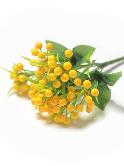 Букет зонтик ягодный Камьер – желтый - Фото 1 | Компания «Венок»