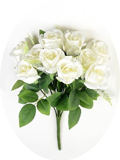 Букет роз Каднам белый - Фото 1 | Компания «Венок»