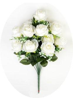 Большой букет роз на кладбище в спб белый