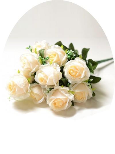 Букет роз Карнусти – персиковый (чайный) - Фото 1 | Компания «Венок»