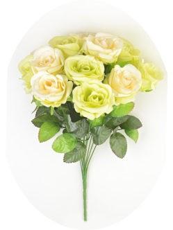 Букет роз Венеция на кладбище в САнкт-Петербурге - белый