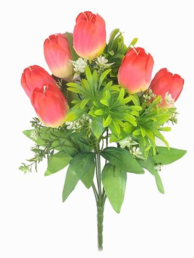 Букет тюльпанов Уэм – красные - Фото 1 | Компания «Венок»