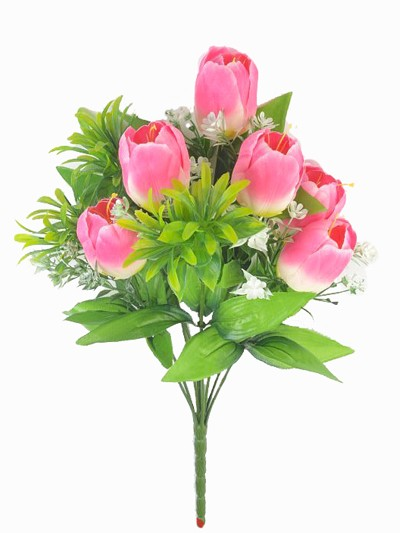 Букет тюльпанов Уэм – розовые - Фото 1 | Компания «Венок»