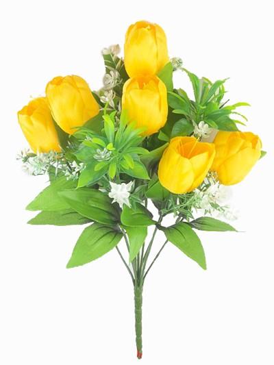 Букет тюльпанов Уэм — желтый - Фото 1 | Компания «Венок»