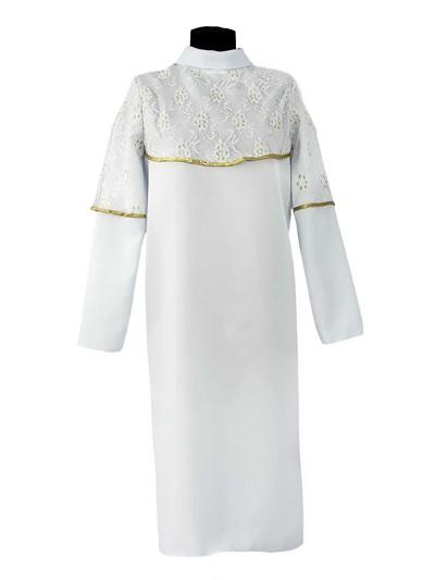 Платье женское ШАНЕЛЬ белое - Фото 1 | Компания «Венок»