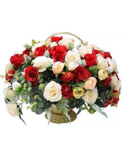 Ритуальная корзина Мира заказать на похороны в спб