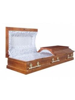 """Гроб полированный """"Пегас"""" двухкрышечный заказать с доставкой в спб"""