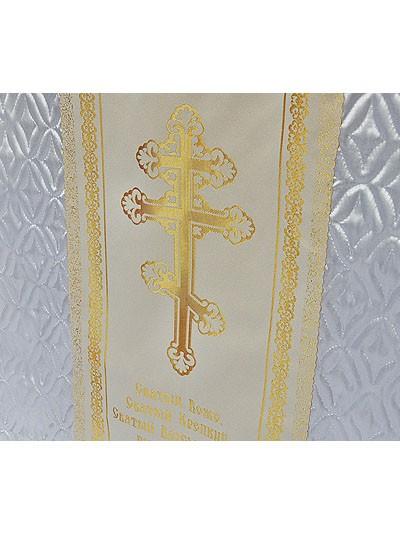 Комплект с крестом и молитвой – золото - Фото 2 | Компания «Венок»