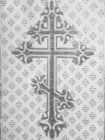 Комплект с крестом и молитвой — серебро - Фото 2 | Компания «Венок»