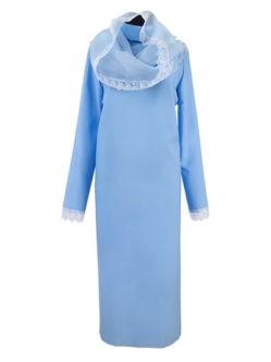 5122. Платье женское С КАПОРОМ и кружевом купить в спб