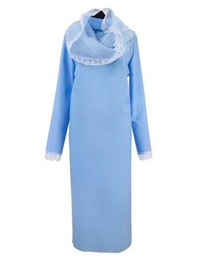 Платье женское С КАПОРОМ и кружевом - Фото 1 | Компания «Венок»