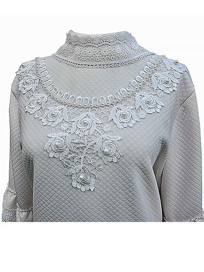 Платье женское элитное с воротом - Фото 2 | Компания «Венок»
