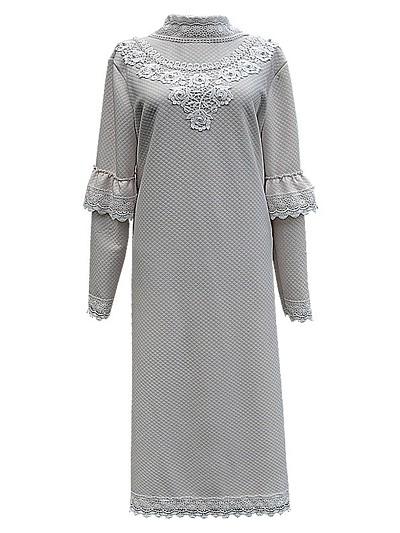 Платье женское элитное с воротом - Фото 1 | Компания «Венок»