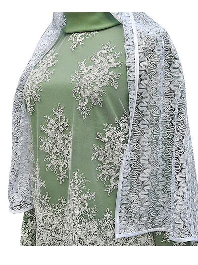 Платье женское элитное с шарфом - Фото 4 | Компания «Венок»
