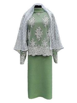 Платье в гроб элитное с вышивкой купить в Санкт-Петербурге