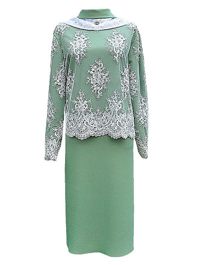 Платье женское элитное с шарфом - Фото 2 | Компания «Венок»