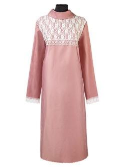 Платье ЛЮКС из плательной ткани с кокеткой из гипюра стрейч заказать в Санкт-Петербурге