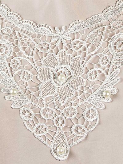 Платье женское люкс из плательной ткани с кружевом - Фото 2 | Компания «Венок»