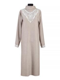 Платье женское ЛЮКС из плательной ткани с кружевом купить в спб