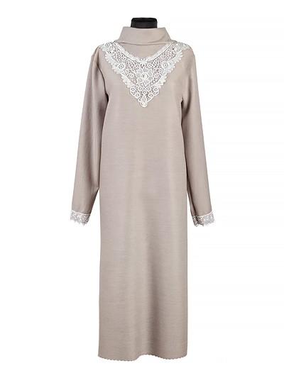 Платье женское люкс из плательной ткани с кружевом - Фото 1 | Компания «Венок»