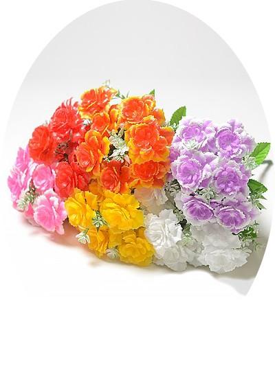 Букет роз БАРИ 7 голов пластик микс - Фото 1 | Компания «Венок»