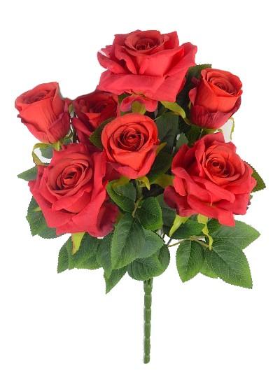 Букет роз Глазбури – красный - Фото 1 | Компания «Венок»