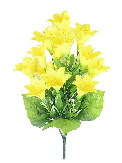Букет лилии Раядер – желтый - Фото 1 | Компания «Венок»