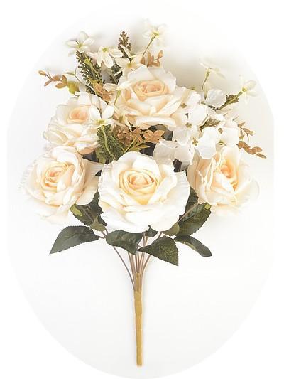 Букет розы Лут – кремовый - Фото 1 | Компания «Венок»