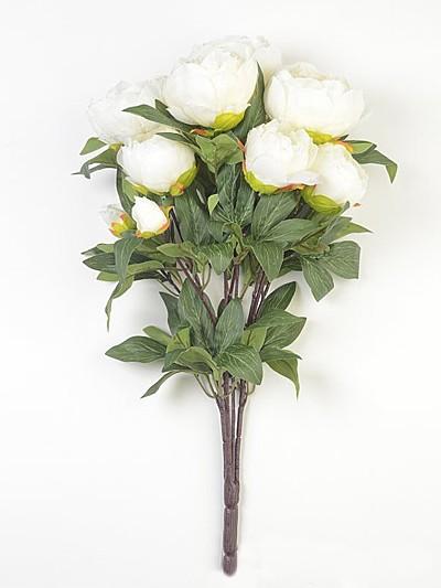 Букет пионов Мамблс – белый - Фото 2 | Компания «Венок»