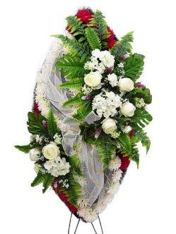 Элитный ритуальный венок №14 купить в спб