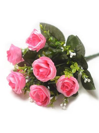 КРИКЛЕЙД Букет роз – малиновый - Фото 1 | Компания «Венок»