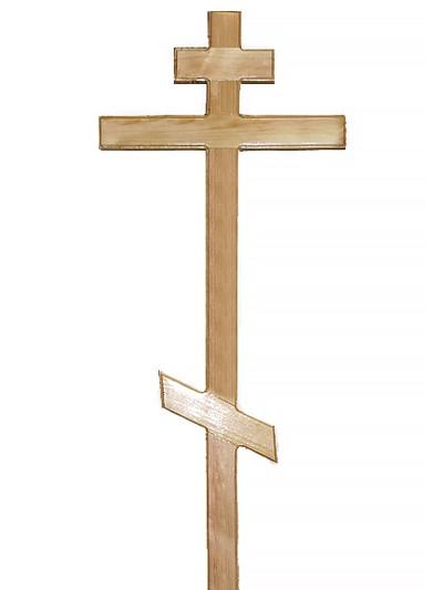 Крест сосновый КС-11 - Фото 1 | Компания «Венок»