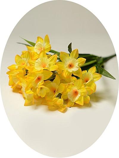 ТАКЕР букет нарциссов желтый - Фото 1 | Компания «Венок»