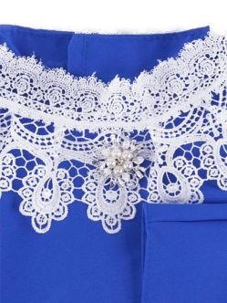 Синее платье с брошью для умершей купить в спб