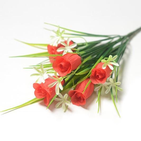 Букет бутонов роз Балшем - Фото 3 | Компания «Венок»
