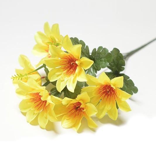 Букет георгина Далкейт – желтый - Фото 1   Компания «Венок»