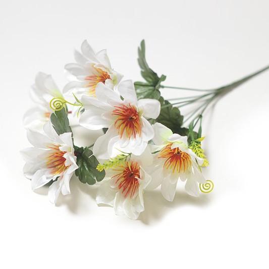 Букет георгина Далкейт – белый - Фото 1 | Компания «Венок»